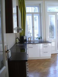 Kuchyň nebo kuchyňský kout v ubytování Apartment in City Center - MORASSI