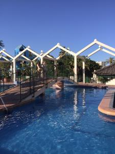 The swimming pool at or near Benal Beach Apartments