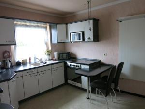 Küche/Küchenzeile in der Unterkunft Gästezimmer Bluno