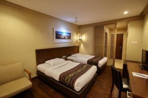 A room at Jiwa Jawa Resort Bromo