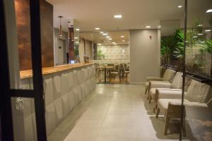A restaurant or other place to eat at Amenit Hotel