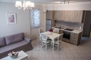 A kitchen or kitchenette at Lefkadio Suites