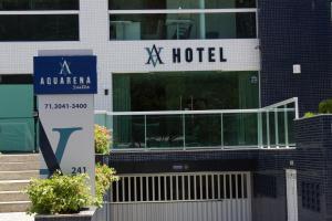 Фасад или вход в Aquarena Hotel