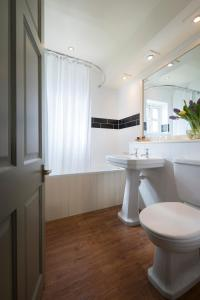 A bathroom at The Winning Post