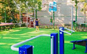 Children's play area at Pontos Family Resort Vesta