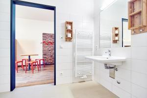 Ein Badezimmer in der Unterkunft Jugendherberge Winterberg
