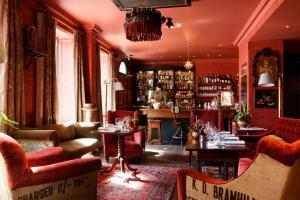 The lounge or bar area at The Zetter Townhouse Clerkenwell