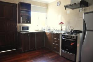 A kitchen or kitchenette at Complejo Abaurrea
