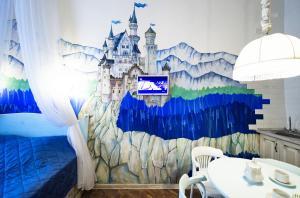 Банкетный зал в апартаментах/квартире