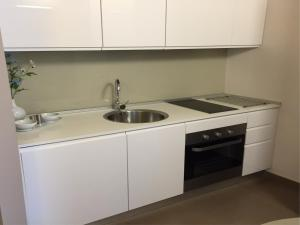 A kitchen or kitchenette at Piazza Alario