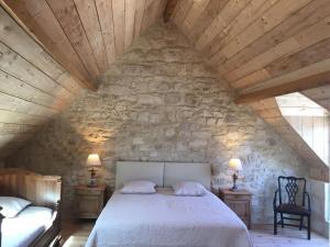 A room at Casa La Palma II COURMELLETTE Sauna et Hammam