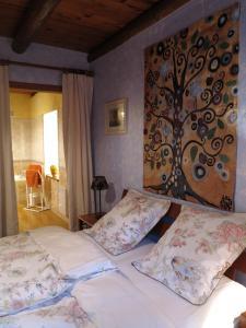 Un ou plusieurs lits dans un hébergement de l'établissement L'Horizon Vert
