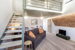 Zona de estar de BBCHARME La Casa Sui Tetti