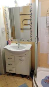 Ванная комната в Апартаменты студия на Фрунзе