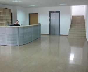 Lobby/Rezeption in der Unterkunft Uninova Hostel