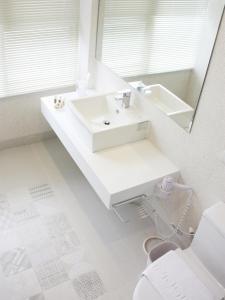 A bathroom at White Truffle B&B