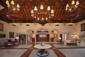 The lobby or reception area at Marriott's Playa Andaluza