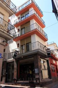 The facade or entrance of Casa Don Juan