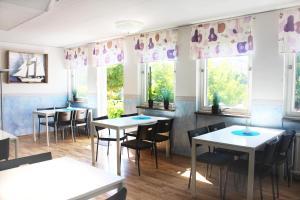 En restaurang eller annat matställe på Drottninggatans Vandrarhem