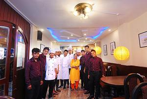 Staff members at Hotel Lily