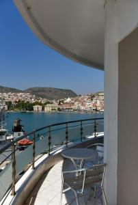 A balcony or terrace at Blue Sea Hotel