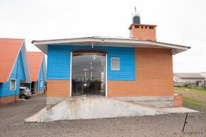 A fachada ou entrada em Pousada Cristal Serra