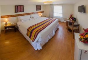 A room at Taypikala Hotel Cusco