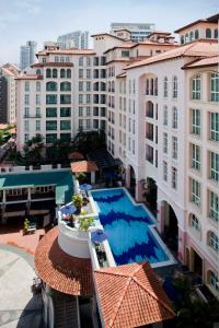 A view of the pool at Fraser Place Robertson Walk Singapore (SG Clean) or nearby