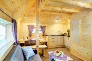 Een keuken of kitchenette bij Slovenia Eco resort