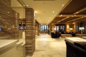 The lobby or reception area at Rosapetra SPA Resort