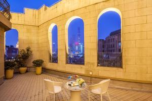 A porch or other outdoor area at Metropolo Classiq, Shanghai, Bund Circle