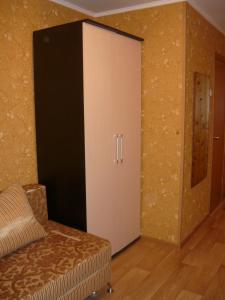 Кровать или кровати в номере Apartment Чебрикова