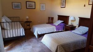 Letto o letti in una camera di Casa Rural El Traspatio