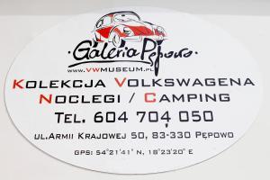 Certyfikat, podpis lub inny dokument wystawiony w obiekcie Galeria Pępowo