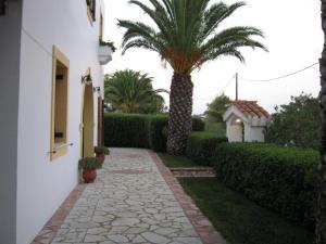 Патио или другая зона на открытом воздухе в Cerigo House