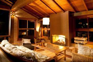 O lounge ou bar de Pousada do Quilombo