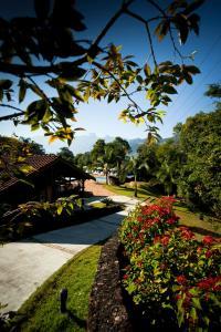 Um jardim em Pousada do Quilombo