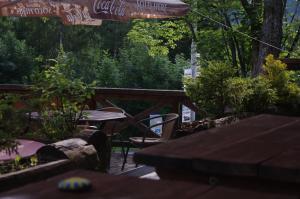 Patio nebo venkovní prostory v ubytování Penzion Avalanche