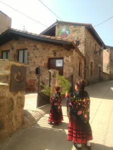 Un patio o zona al aire libre en Posada Rural La Piñorra