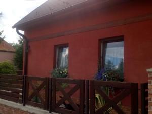 A porch or other outdoor area at Apartman U Adamov