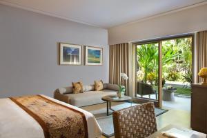 A seating area at Padma Resort Legian