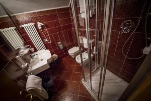 A bathroom at Hotel Spessotto