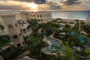A bird's-eye view of The Hamilton Beach Villas & Spa