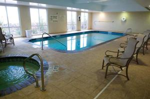 The swimming pool at or near Hampton Inn & Suites El Paso West