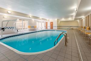 The swimming pool at or near Fairfield Inn & Suites Stevens Point
