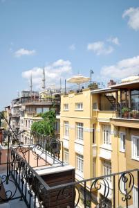 Балкон или терраса в Side Hotel