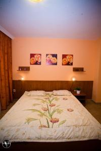 Postel nebo postele na pokoji v ubytování Penzion Tara