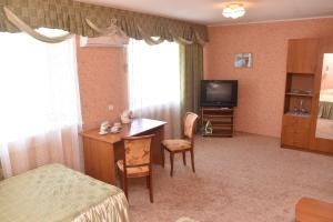 Гостиная зона в Hotel Urypinsk