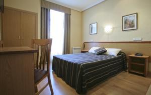 Una habitación en Hotel Mediodia