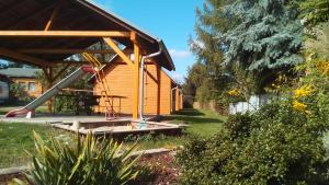 Ein Garten an der Unterkunft Ferienwohnungen Goller